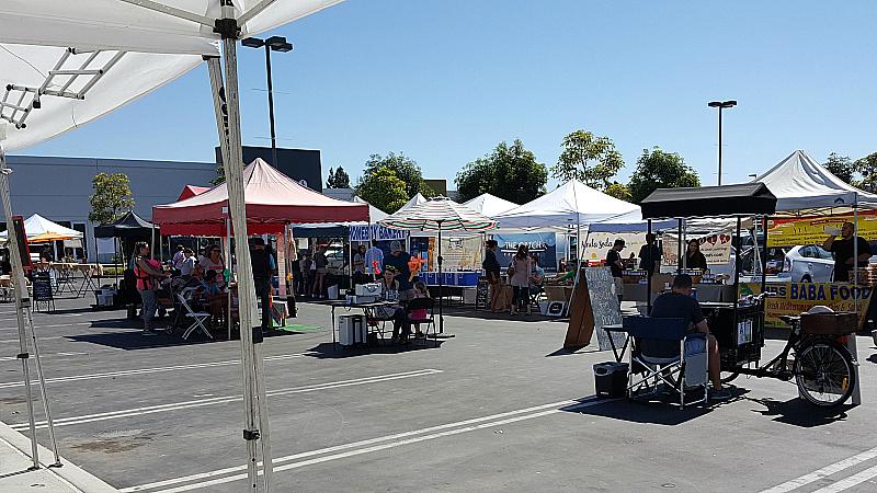 SoCo Farmer's Market - Costa Mesa, California