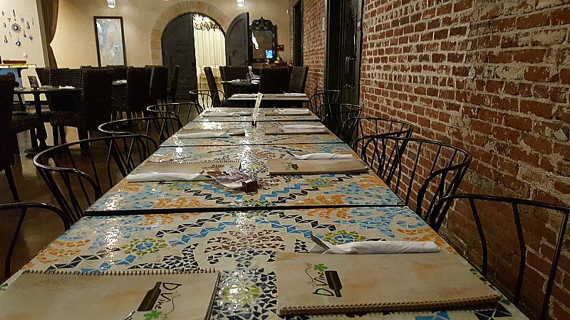 D'Vine Mediterranean Experience - Fullerton, California