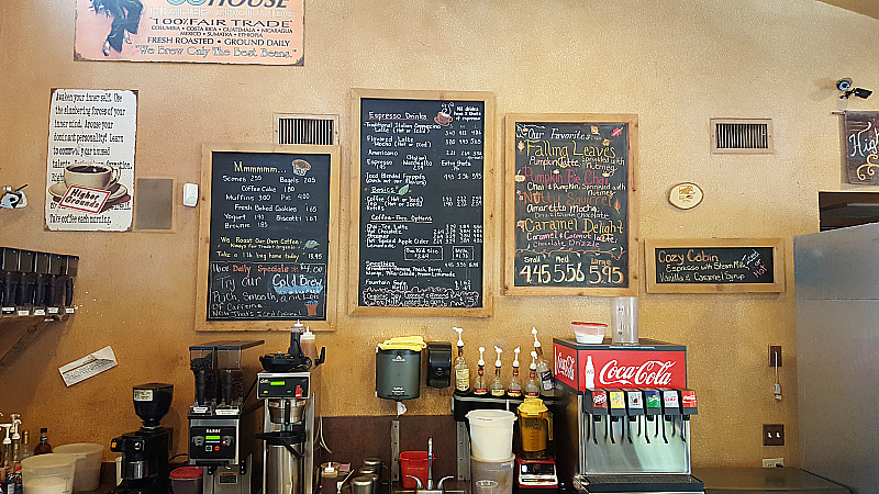 Higher Grounds Coffee House - Idyllwild, California