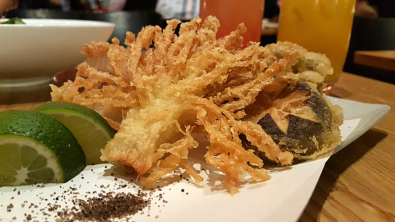 Tempura Mushrooms at Nobu - Hard Rock Hotel - San Diego, California