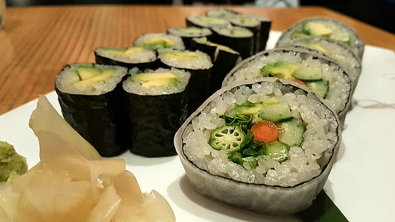 Vegan Sushi at Nobu - Hard Rock Hotel - San Diego, California