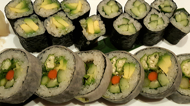 Vegetarian Sushi at Nobu - Hard Rock Hotel - San Diego, California