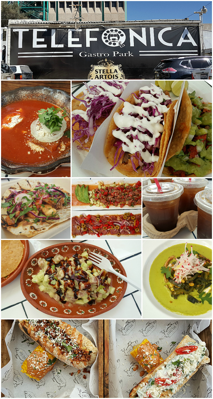 Telefonica Gastro Park in Tijuana, Mexico - Baja California