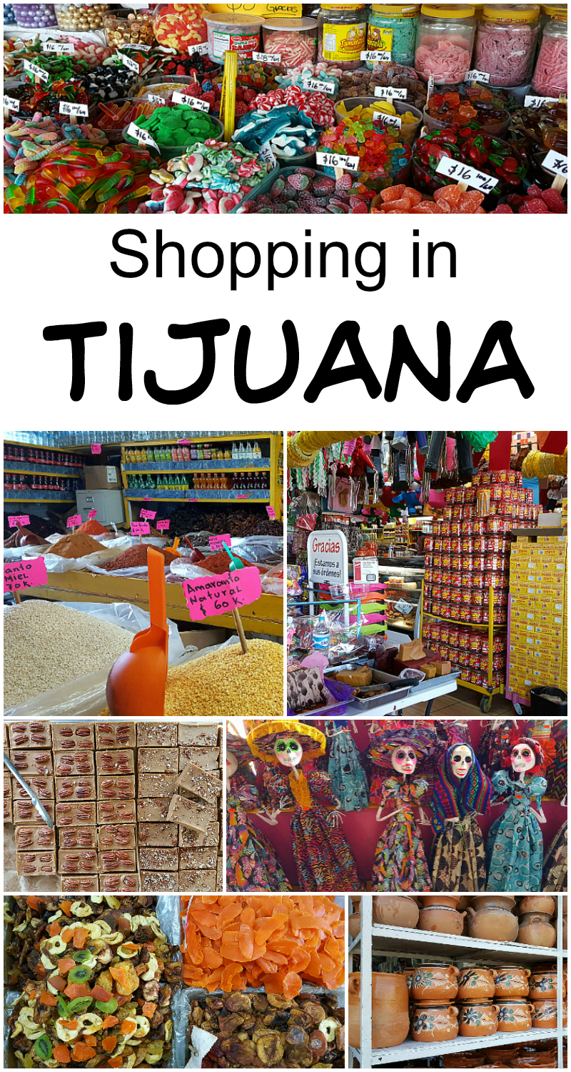 Shopping in Tijuana, Baja California, Mexico - Mercado Hidalgo