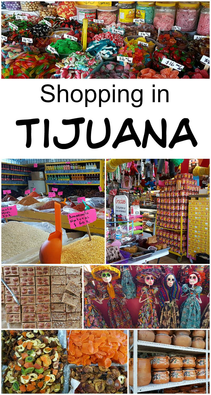 Shopping in Tijuana, Baja California, Mexico - Mercado Hidalgo