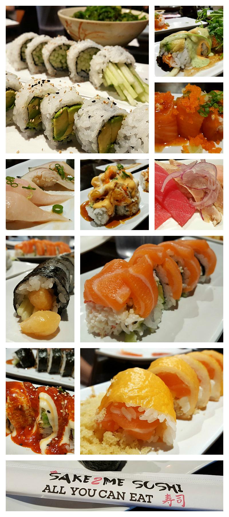 Sake2Me All You Can Eat Sushi in Tustin