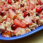 Cranberry Pear Fried Rice