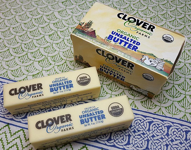 Clover Organic Unsalted Butter