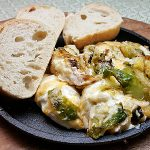 Cheesy Warm Brussels Sprouts Dip Recipe