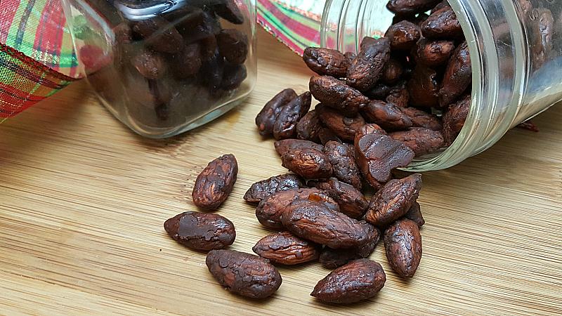 Chocolate Honey Roasted Almonds
