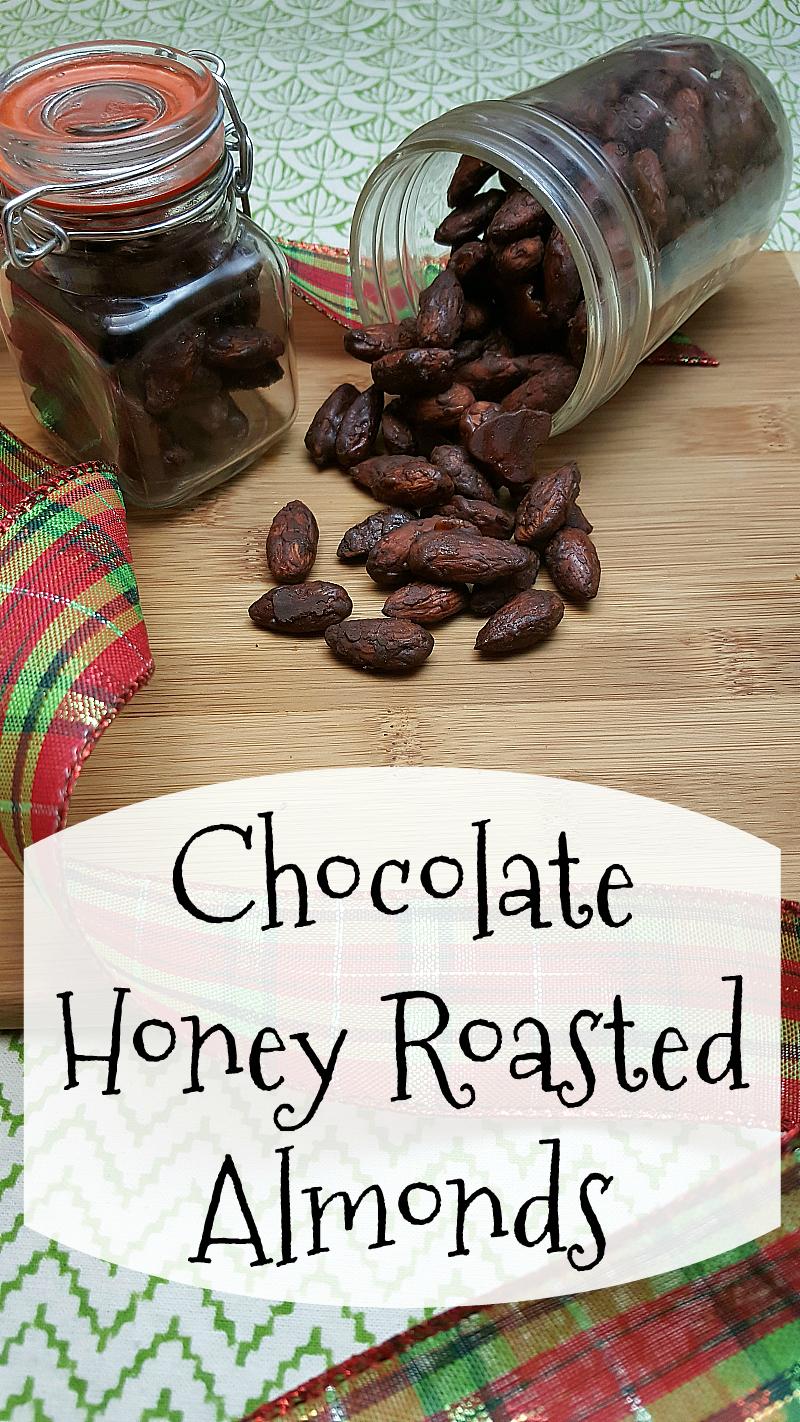 Chocolate Honey Roasted Almonds Recipe