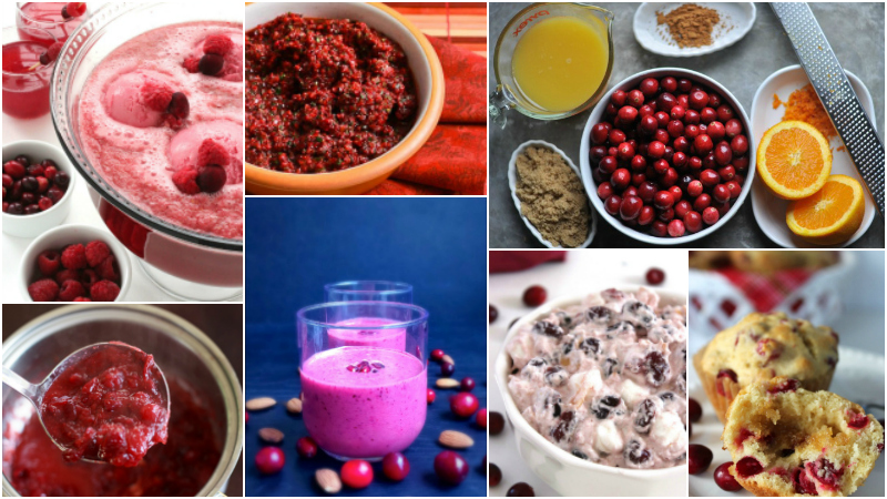More Than 20 Fresh Cranberry Recipes