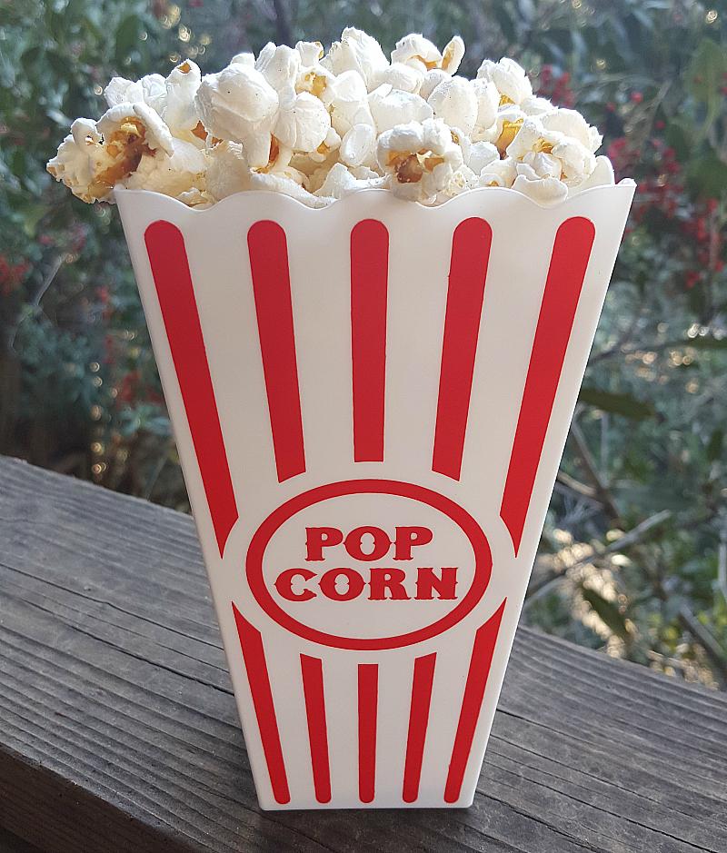 Dutch Oven Coconut Oil Popcorn