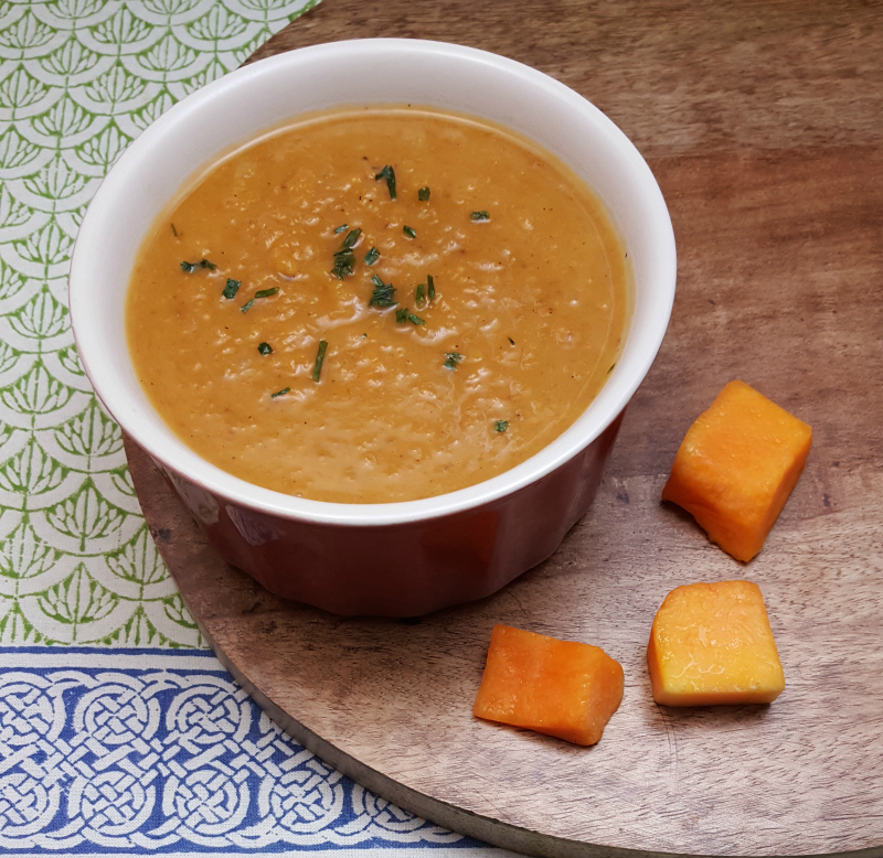 Vegetarian Roasted Butternut Squash Soup