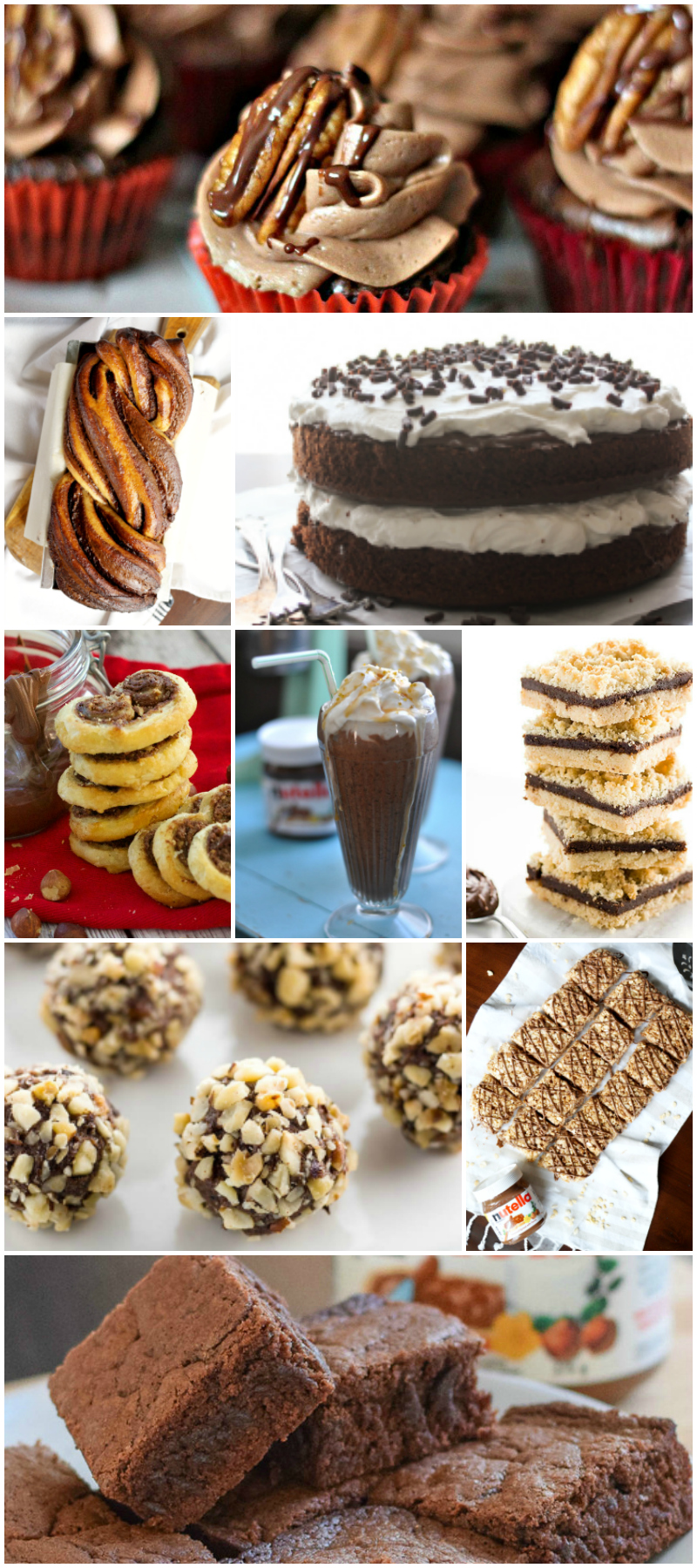 More than 40 amazingly delicious Nutella recipes - Food Blogger Recipe Round Up