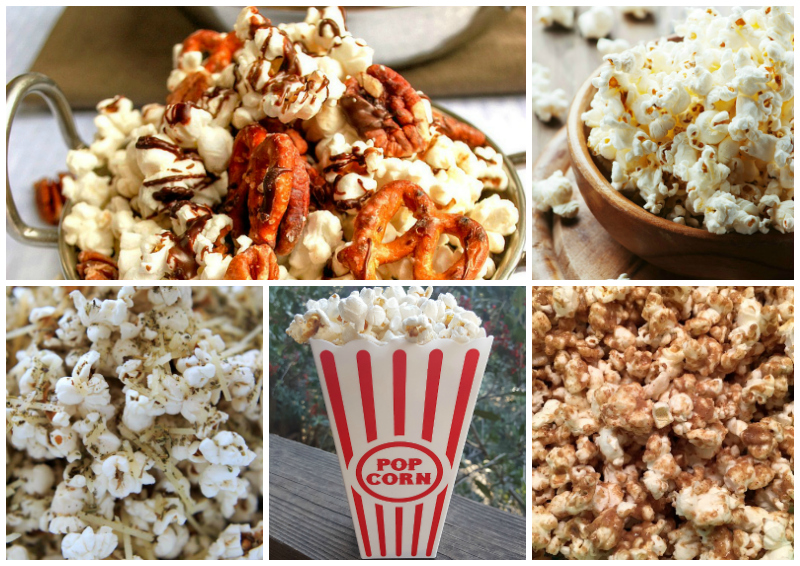 30 + Recipes for Sweet and Savory Popcorn