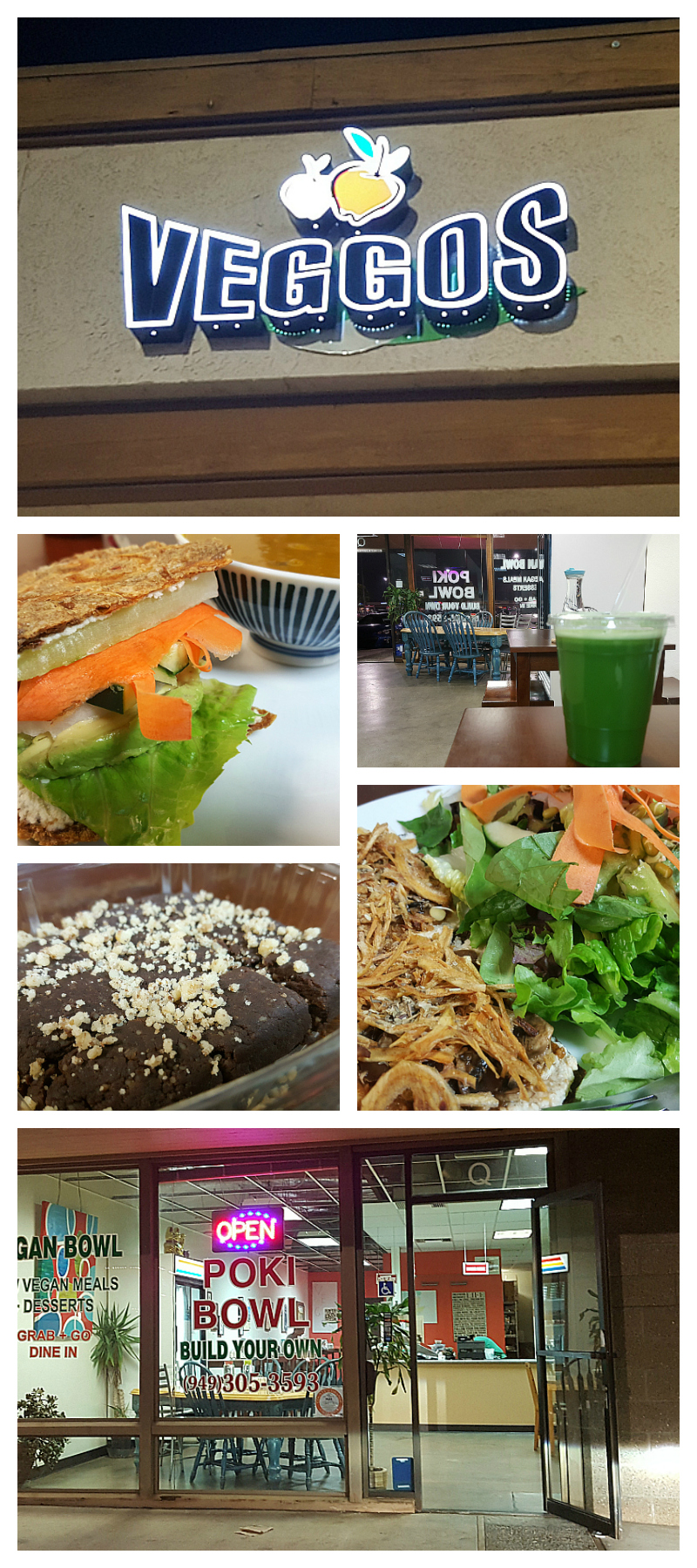 Veggos Vegan Raw Food Restaurant in Lake Forest, California