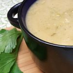 Vegan Cream of Celery Soup