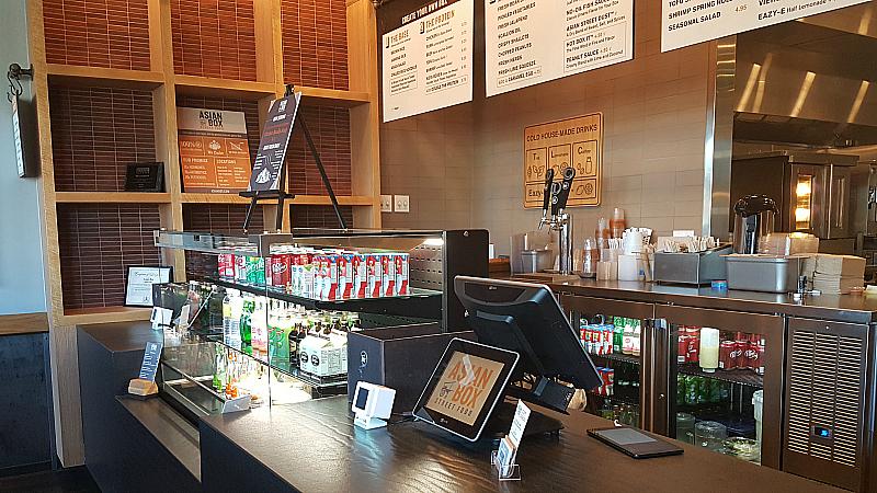 Asian Box Street Food Restaurant Near UC Irvine