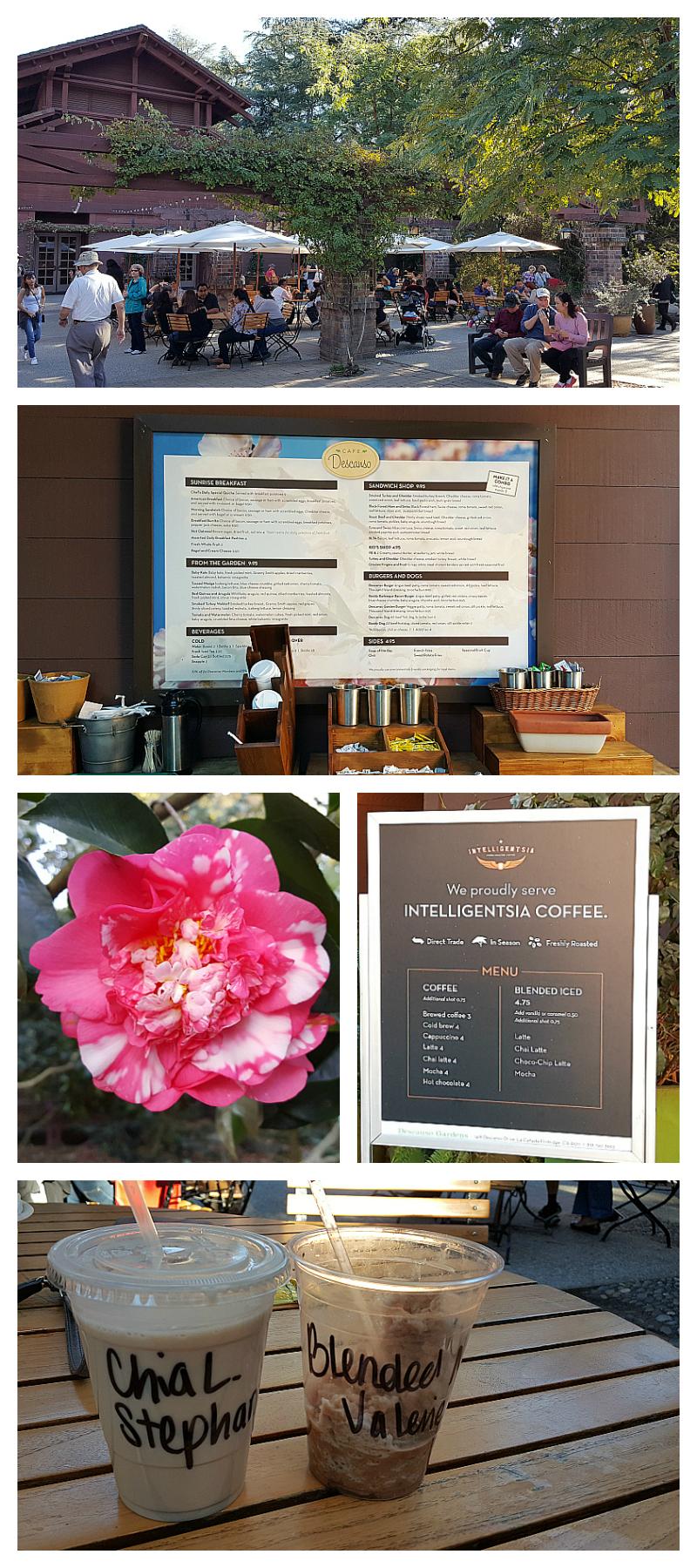Descanso Cafe at Descanso Gardens - Pasadena, California
