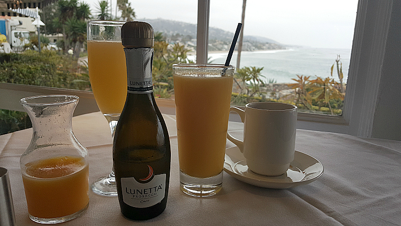 Breakfast at Las Brisas in Laguna Beach