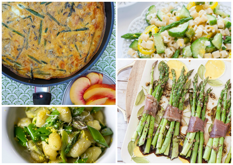 So Many Delicious Ways to Cook Asparagus - 30 Recipes from Food Bloggers