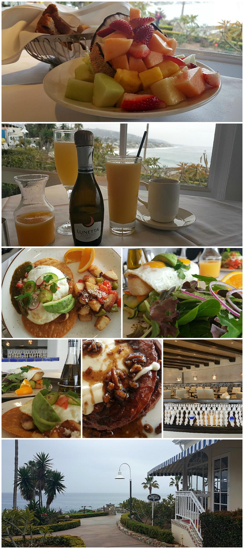 Breakfast at Las Brisas in Laguna Beach