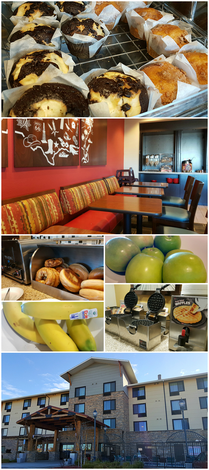 Breakfast at Marriott TownPlace Suites Lancaster, California