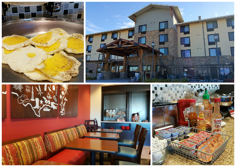 Breakfast at Marriott TownPlace Suites Lancaster
