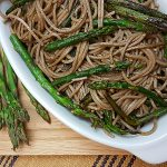 Lemon Garlic Asparagus with Pasta Recipe