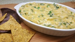 Easy Cheesy Warm Corn Dip