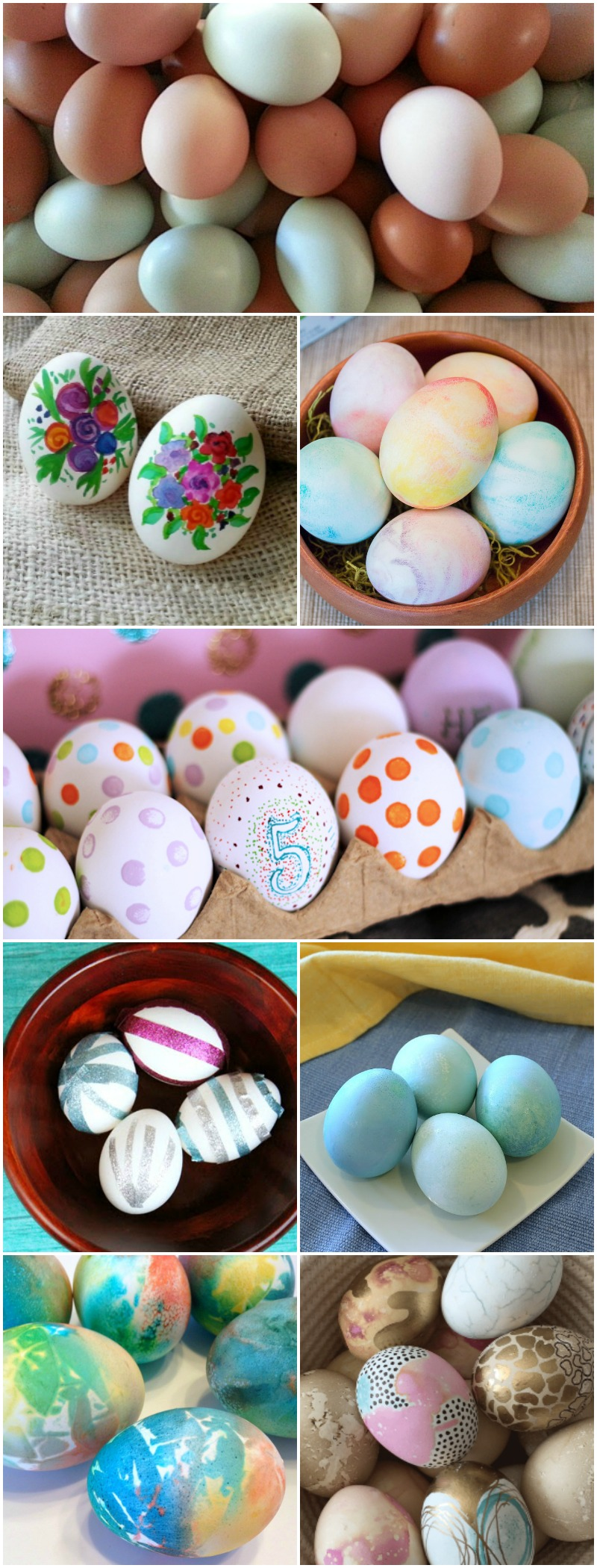 21 Creative Ways to Decorate Easter Eggs