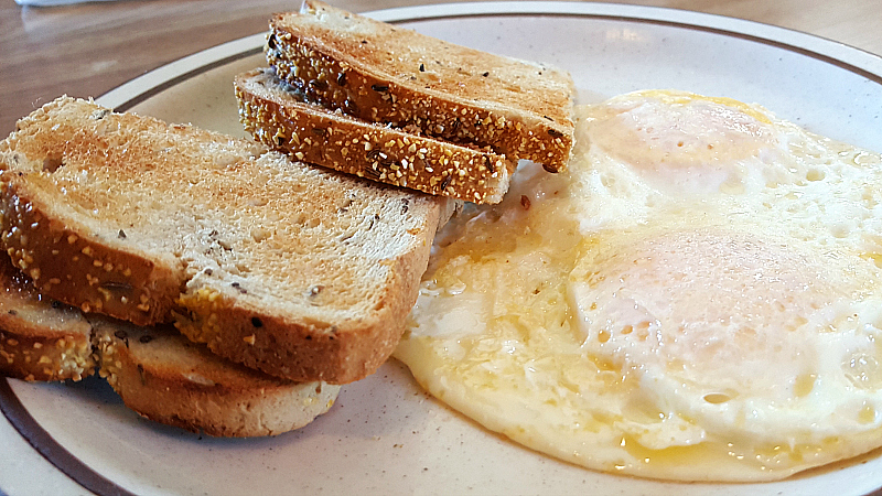 Eggs and Toast at Jack Ranch Cafe
