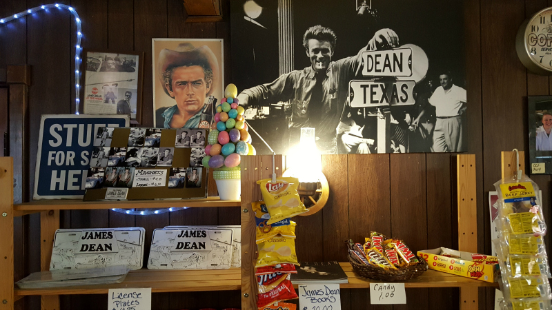 Jack Ranch Cafe with James Dean Memorabilia