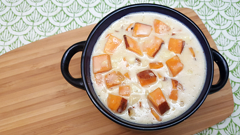Vegetarian Sweet Potato Corn Chowder