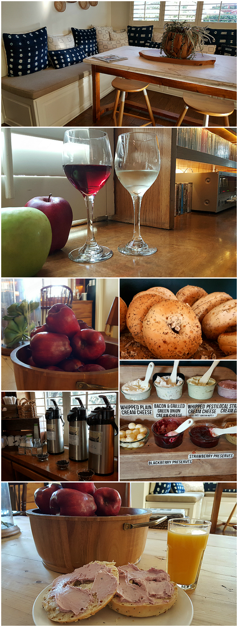 Complimentary Food and Drinks at Hotel Carmel