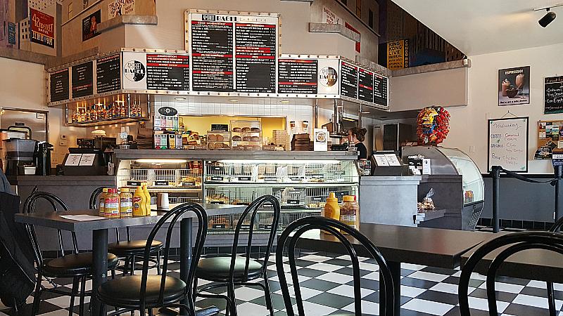 42nd St. Bagel Cafe in Claremont Village