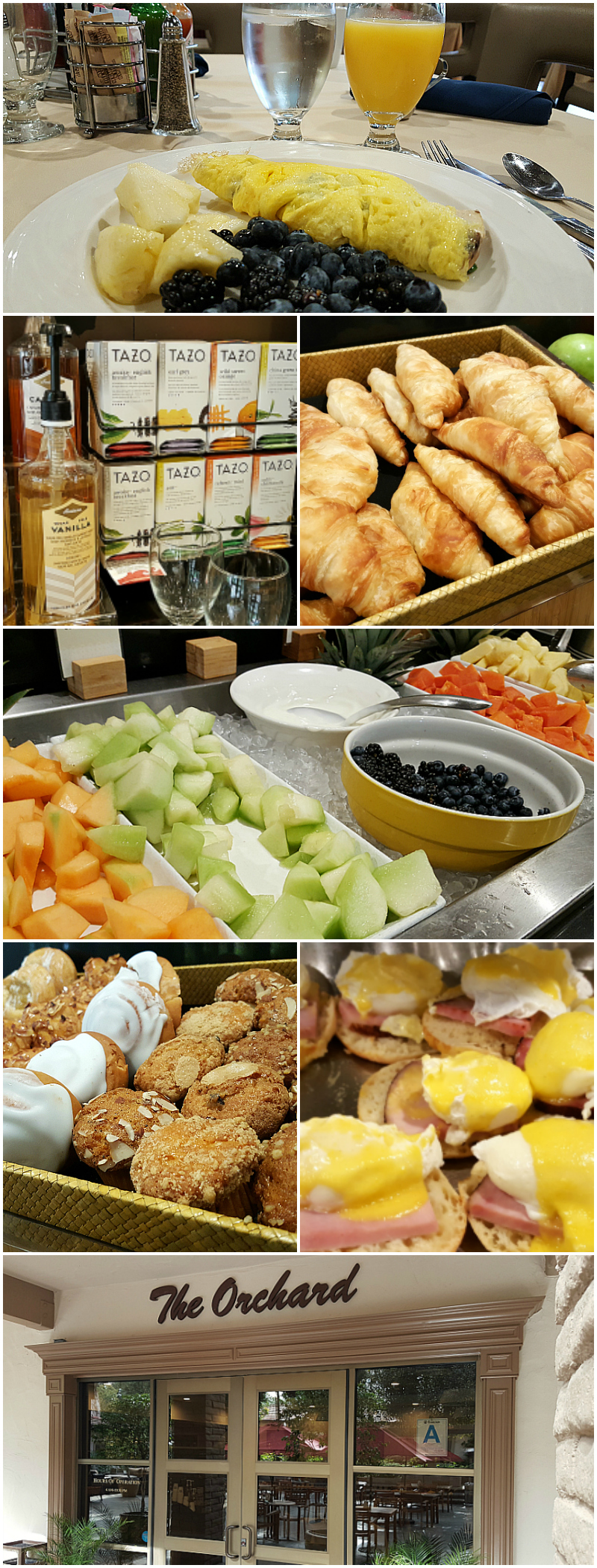 Breakfast Buffet at The Orchard at The Doubletree Claremont Hotel