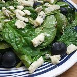 Blueberry Blue Cheese Salad Recipe