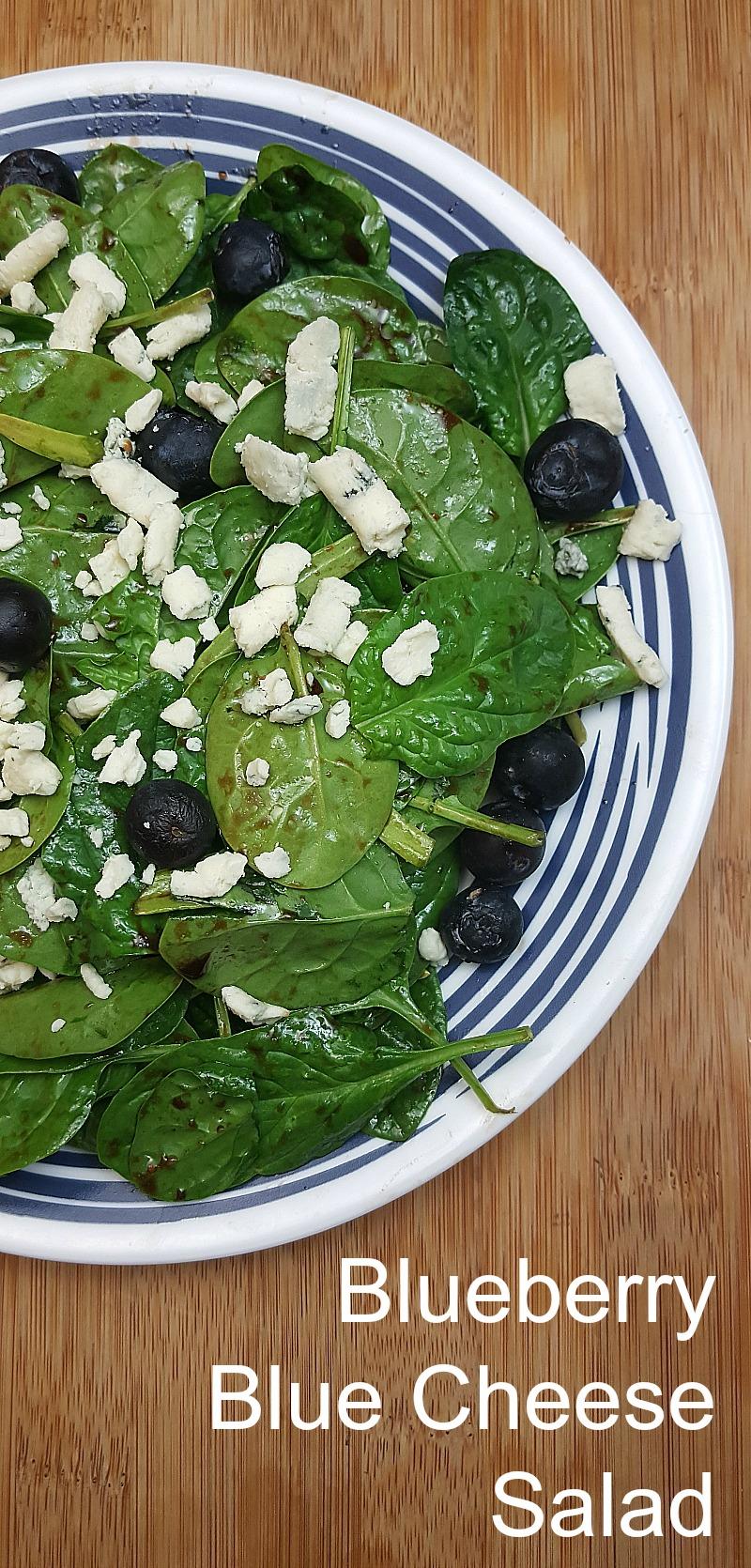 Blueberry Blue Cheese Salad Recipe