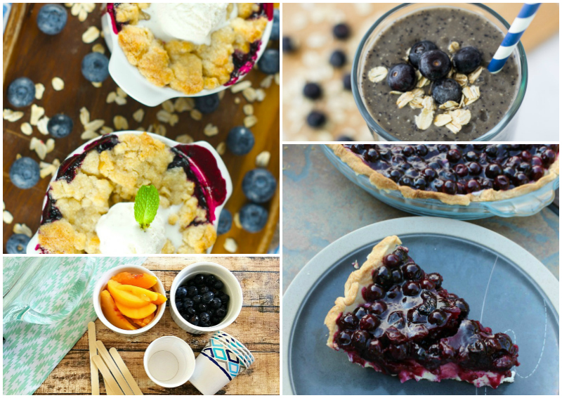 20 Recipes Using Fresh Blueberries