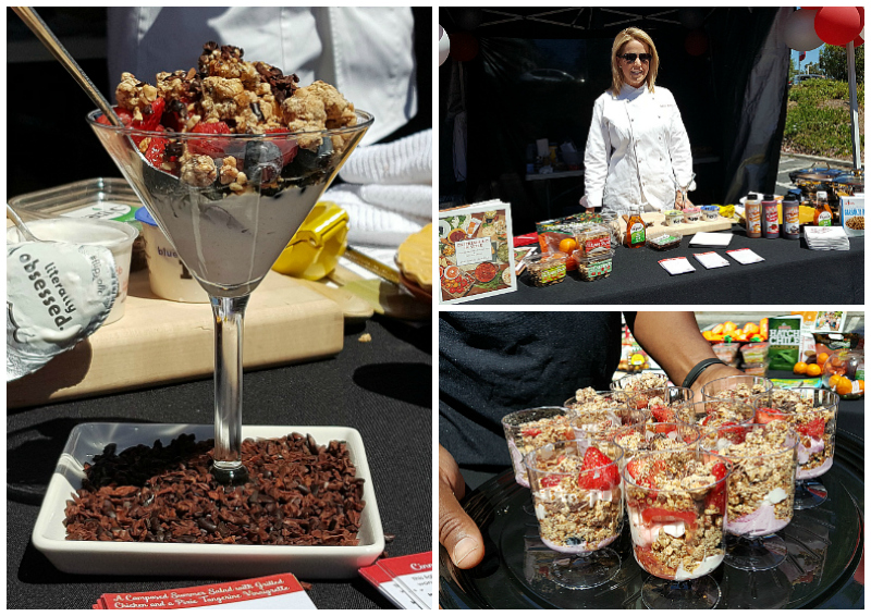 Chef Jamie Gwen at Good & Well Expo in Laguna Hills