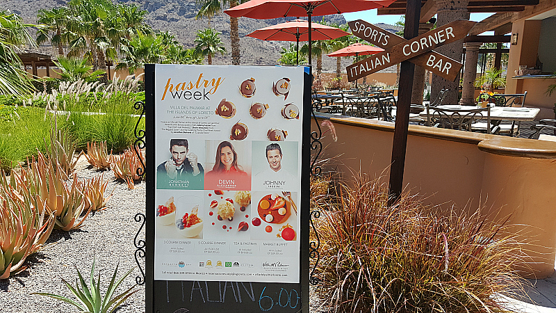 Pastry Chef Week at Villa del Palmar Loreto