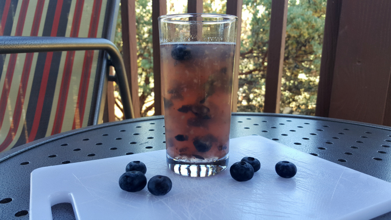 Easy Blueberry Lemonade