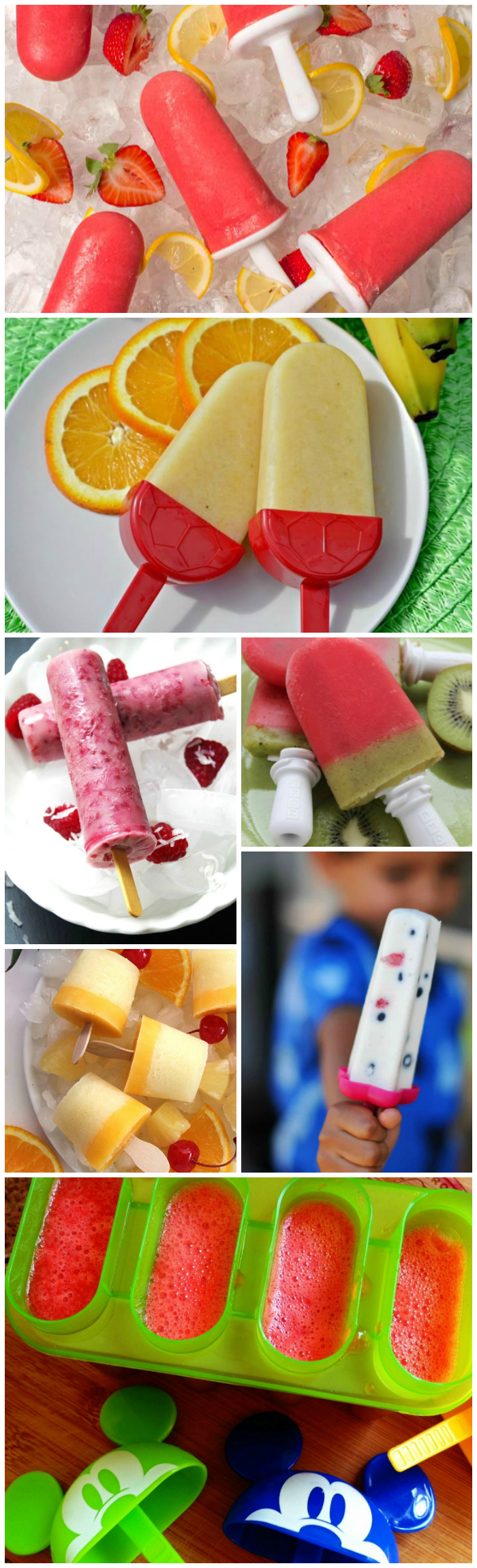 15 Homemade Fruit Popsicle Recipes
