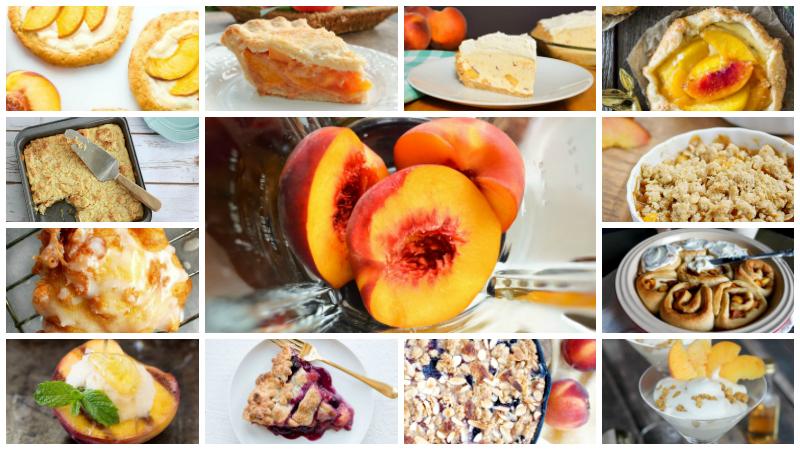 20 Awesome Peach Dessert Recipes