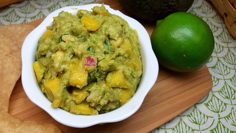 Mango Lime Guacamole
