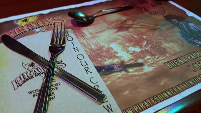 Vegetarian Dinner and Fun at Pirate's Dinner Adventure
