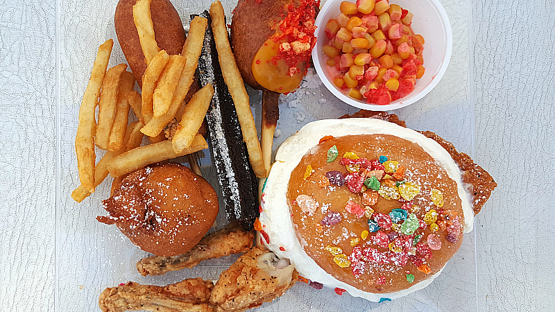 It's All About The Food at The OC Fair