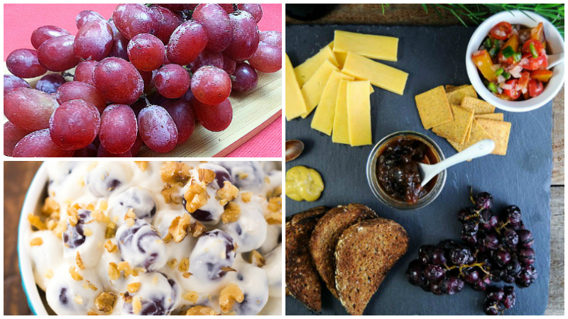15 Delicious Recipes with Grapes